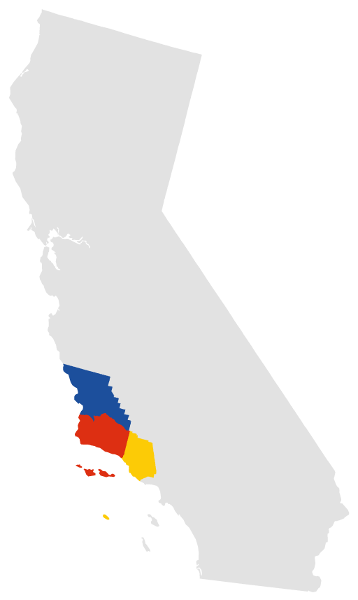 California_counties_outline_map
